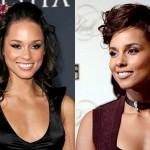 Alicia Keys Nose Job Before and After Photos