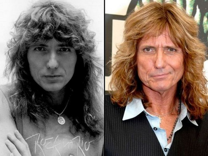 David Coverdale Plastic Surgery Before and After Photos