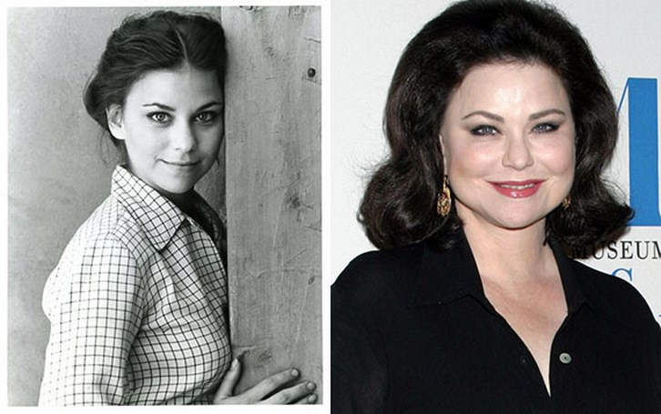 Delta burke plastic surgery before and after pictures for What does delta burke look like now