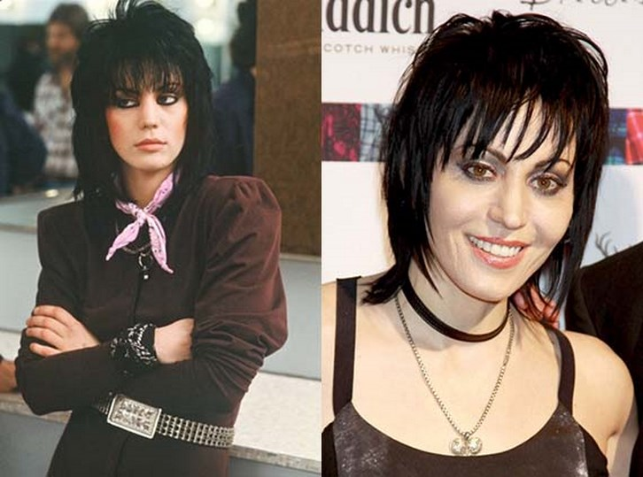 Joan Jett Plastic Surgery Before and After Photos