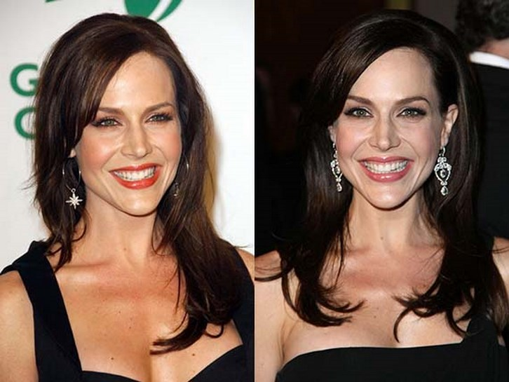 Julie Benz Plastic Surgery Implants Before and After