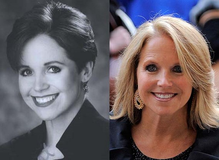 Katie Couric Plastic Surgery Before and After Photos