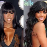 Kelly Rowland Breast Implants Before and After Photos
