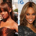 Tyra Banks Nose Job Before and After Photos