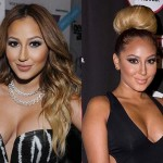 Adrienne Bailon Face and Breast Plastic Surgery Before After Photos