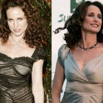 Andie Macdowell Plastic Surgery Breast Before After Photos