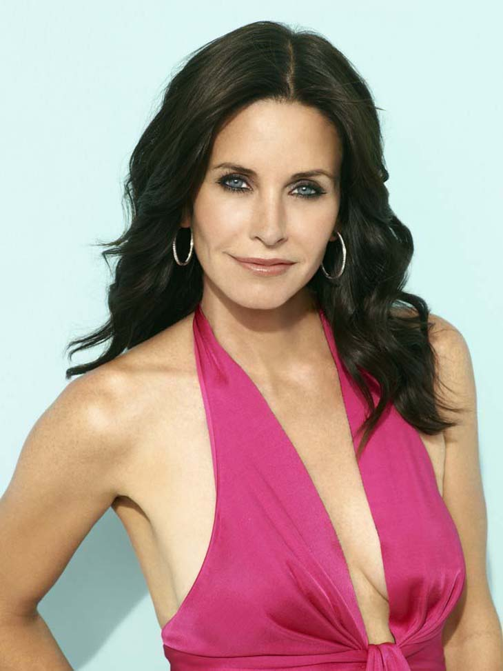 Courtney Cox Plastic Surgery Breast Before and After