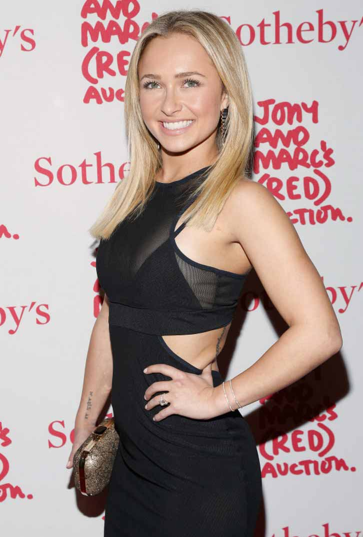 Hayden Panettiere Breast Implants Photos