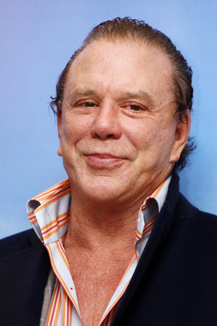 Mickey Rourke Plastic Surgery 2014