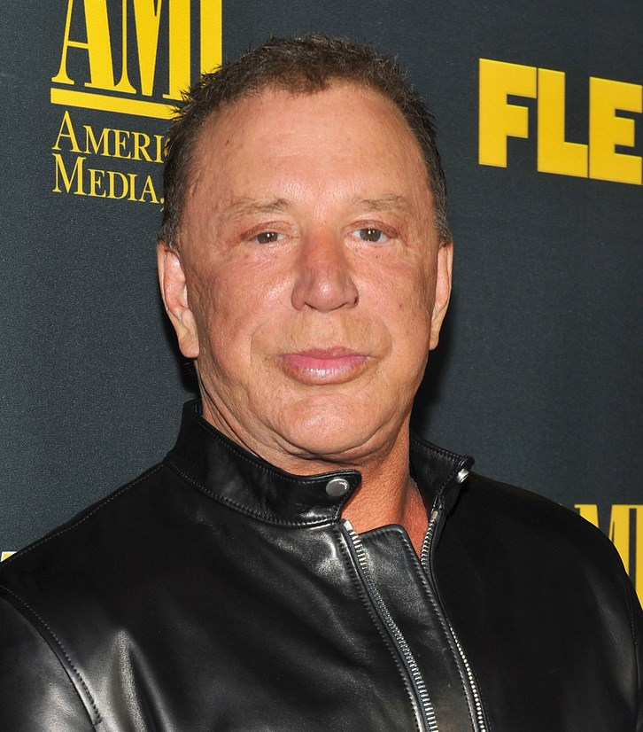 Mickey Rourke Surgery Face