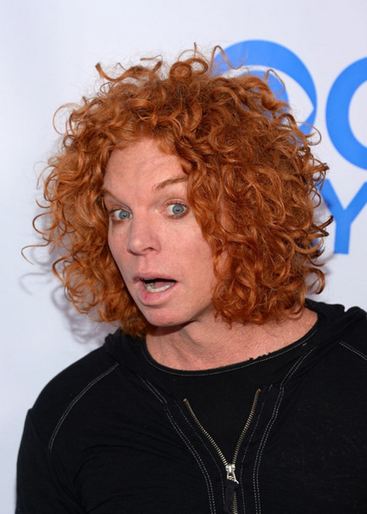 Pictures of Carrot Top before Plastic Surgery