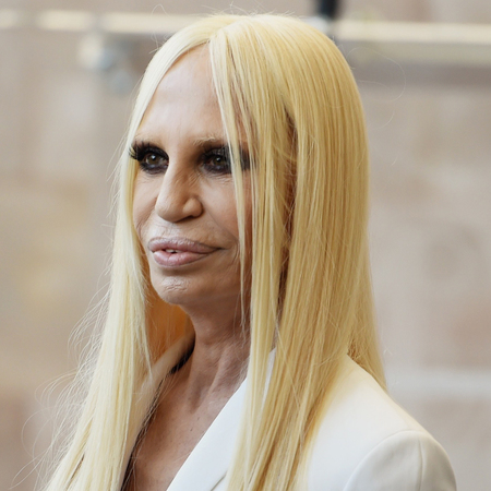 donatella versace plastic surgery celebrity plastic. Black Bedroom Furniture Sets. Home Design Ideas